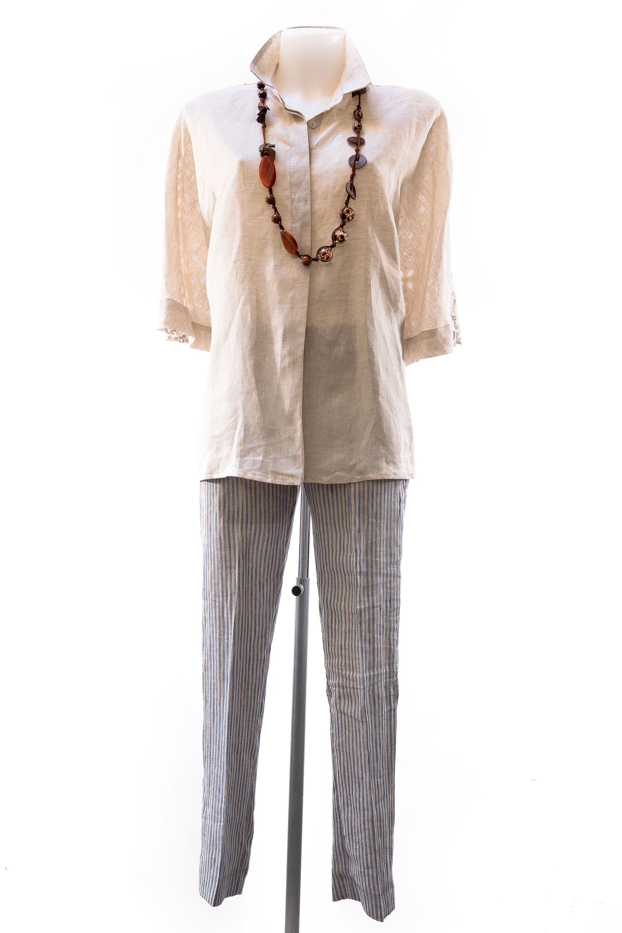 Linen shirt and trousers
